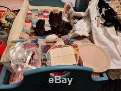 1991 American Girl Kirsten Pleasant Company With Bed, Dresser, Cloths & More