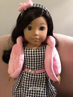 AMERICAN GIRL 18 Doll Nanea Plus 2 Extra Outfits, Excellent Condition