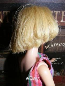 AMERICAN GIRL BARBIE HIGH COLOR Thick Long HAIR Blonde Doll Bendable LEG Vintage