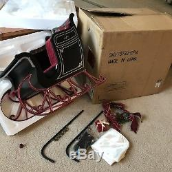 AMERICAN GIRL BLACK VICTORIAN HOLIDAY SLEIGH RETIRED/RARE New In box