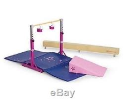 AMERICAN GIRL Balance Beam & Bar Gym SET/Gymnastics Set NEW IN BOX FAST SHIP