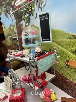 AMERICAN GIRL DOLL Graces Pastry Cart La Petite Patisserie Food Accessories Set