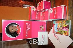 AMERICAN GIRL DOLL Nanea + Exclusive Collection Hawaiian NEW IN BOX + BONUS+BOX