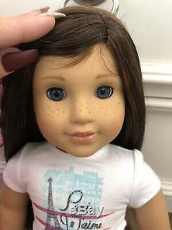 AMERICAN GIRL Doll LOTGRACE THOMAS 2015 + LEA CLARK 2016