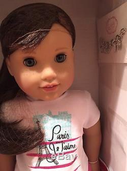 AMERICAN GIRL Doll LOTGRACE THOMAS 2015 + LEA CLARK 2016 NEWNIBSHIPS FASSST