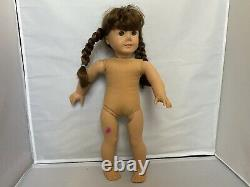 AMERICAN GIRL Lot of 6 Assorted 18 Dolls No Clothes Some Require TLC