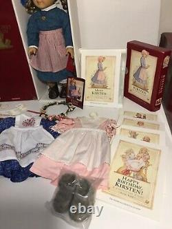 AMERICAN GIRL /PC KIRSTEN DOLL, OUTFITS & ACCESSORIES LOT Excellent