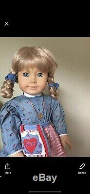 AMERICAN GIRL PLEASANT COMPANY KIRSTEN 1987 #1065 PLEASANT SIGNED with Outfit