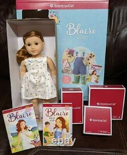 American Girl 18 Doll Blaire Accessories Gardening Outfit BUNDLE Books 1 2NEW