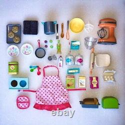 American Girl 18 Doll Gourmet Kitchen Set withAccessories a Retired