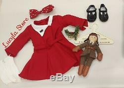 American Girl 18 Doll Kit Kittredge Collection Clothing School Typewriter Desk