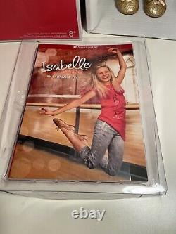 American Girl 18 Isabelle Doll & Book GOTY 2014 Girl of the Year new Extensions