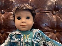 American Girl 18 LOGAN EVERETT Boy Doll