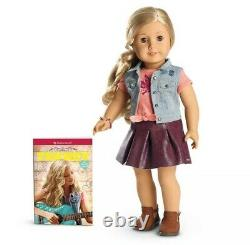 American Girl 18 Tenney Grant Doll, NEW IN BOX! Blonde Hair & book(Spanish)
