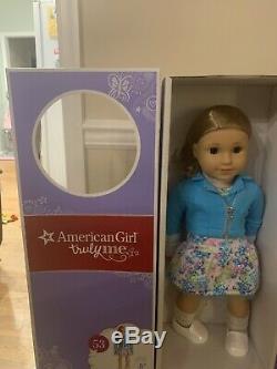 American Girl 18 inch Truly Me Doll #53 Brown hair Brown eyes no bangs NIB