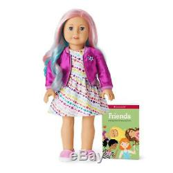 American Girl 88 Truly Me Doll with Pink MEET OUTFIT Pastel Multicolor Hair NEW