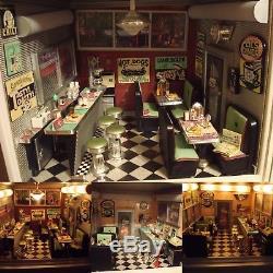 American Girl AG Mini Illuma Rooms Complete Entire Collection + Bonus Rooms RARE
