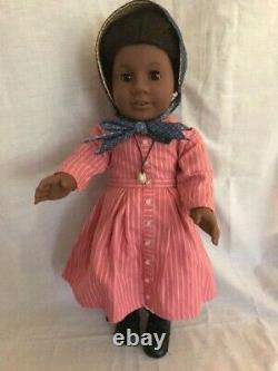 American Girl Addy with 4 additional outfits and accessories Pleasant Company