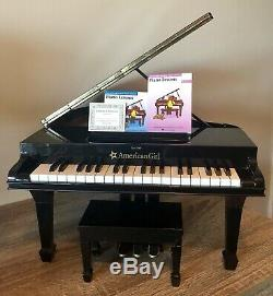 American Girl Baby Grand Piano + Recital Outfit + Violin & Stand + Samantha LOT