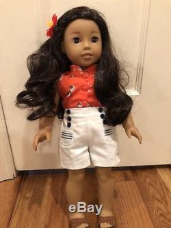 American Girl Be Forever Nanea Huge Lot Doll Clothing Excellent Condition