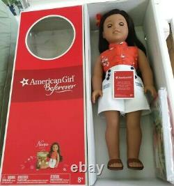 American Girl Beforever Doll (18) Nanea Boxed + Accessories VGC