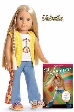 American Girl Beforever Julie Doll & Paperback Book NEW