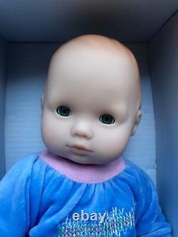 American Girl Bitty Baby Doll BB7 Red Hair Gray Eyes Snowy Dreams New BT