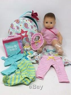 American Girl Bitty Baby Doll+Special Starter Collection Light Skin Brown Eyes