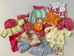 American Girl Bitty Baby Doll with outfits And Accessories LARGE LOT 40 Pieces