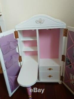 American Girl Brand Isabelle Sewing/Dance Studio with Original Accessories