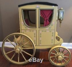 American Girl COLONIAL HORSE CARRIAGE with Roof HTF Felicity Elizabeth RETIRED