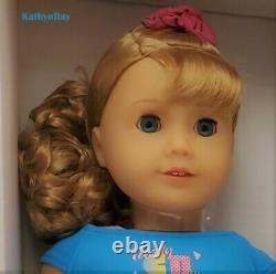 American Girl COURTNEY MOORE DOLL and BOOK historical 80's includes poster