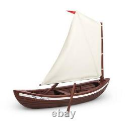 American Girl Caroline's SkiffSail Boat RetiredComplete NEVER REMOVED FROM BOX