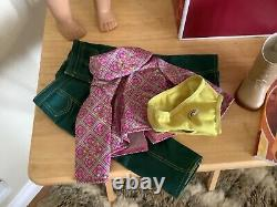American Girl Doll 18' Ivy Meet Outfit with Box Book EUC