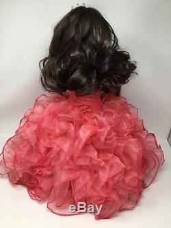 American Girl Doll Ana Sofia Custom OOAK Quinceanera Prom Swarovski Ballgown