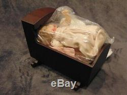 American Girl Doll Baby Polly In Cradle In Box, Part Of Felicity's Collection