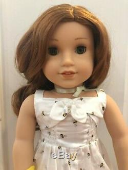 American Girl Doll Blaire with Pleasant View Farm Garden and Lamb set! Mint