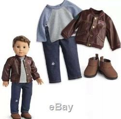 American Girl Doll Boy Logan & Performance Set NIB