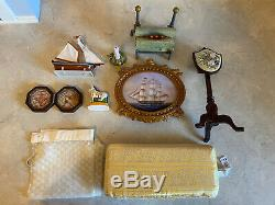 American Girl Doll Carolines Parlor Retired Includes All Accessories