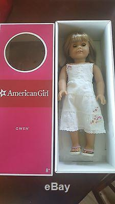 American Girl Doll Chrissa, Gwen, and Sonali. 2009 Girl of the Year and friends