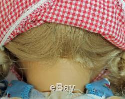 American Girl Doll DM86 no box Pleasant Company Kirsten White Body 1986