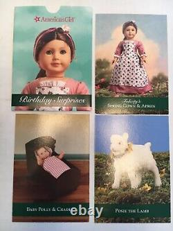 American Girl Doll Felicity BABY SISTER POLLY & CRADLE SET 7 Pcs-Excellent