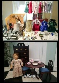 American Girl Doll Felicity Historical Retired Collection HUGE LOT VGC