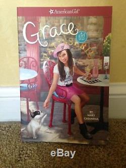American Girl Doll Grace Thomas full size in excellent condition with book