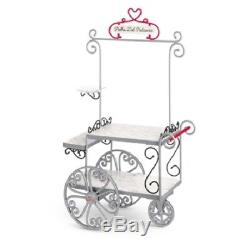 American Girl Doll Grace's PASTRY CART Set + BAKERY TREATS Accessories FAST SHIP