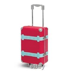 American Girl Doll Grace's TRAVEL SET luggage tag SUITCASE case PASSPORT +