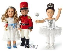 American Girl Doll Holiday Nutcracker Ballet Snow Queen Clara Prince NEW