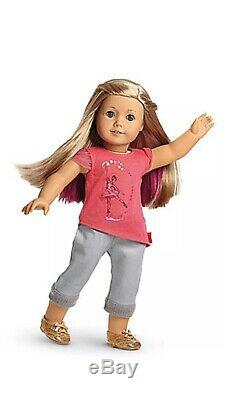 American Girl Doll ISABELLE 2014 Girl of Year NIB RETIRED with pk hair extension