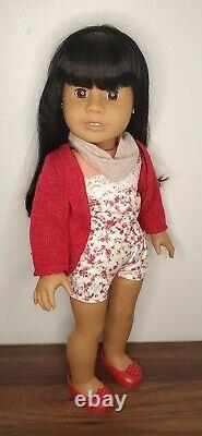 American Girl Doll JLY #11 black hair medium skin brown eyes RETIRED truly me