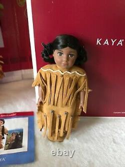 American Girl Doll Kaya, Fire Pit, Food Basket, Tatlo, Shield, More LOT RETIRED